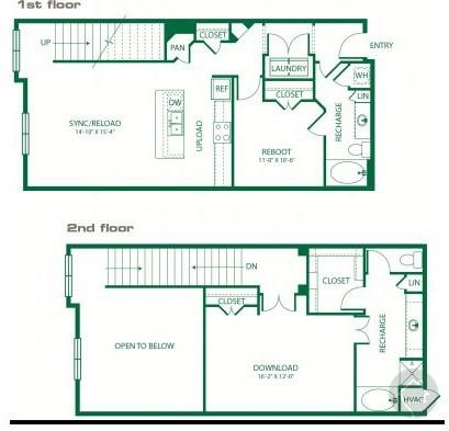 1/2 1449 sqft floor plan