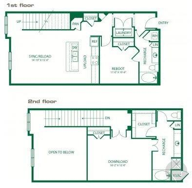 1/2 1430 sqft floor plan