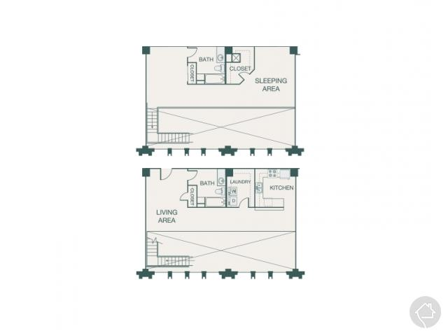 2/2 1655 sqft floor plan