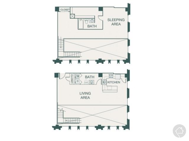 2/1.5 1538 sqft floor plan