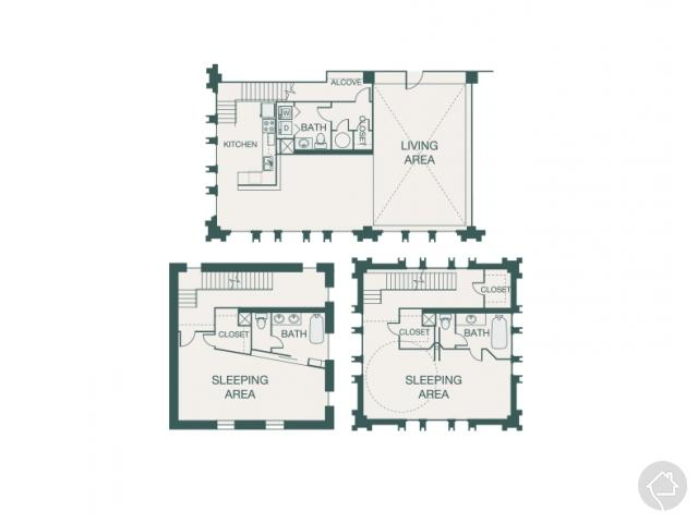 2/2.5 2578 sqft floor plan