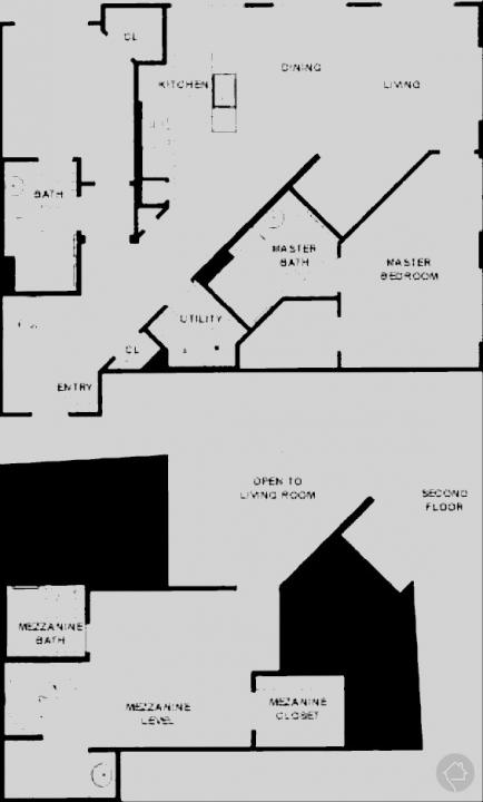 3/3 1562 sqft floor plan